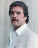 Lee Horsley Posed in a Portrait wearing Gray Formal Coat