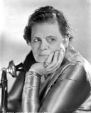 Marie Dressler Head Leaning on Hand in Classic Portrait