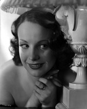 Signe Hasso smiling Portrait