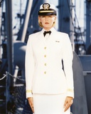 Tracy Needham in Officer Outfit Portrait