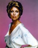 Phyllis Davis Posed in White Dress