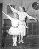 Whatever Happened To Baby Jane Girl and Woman in Same Dress