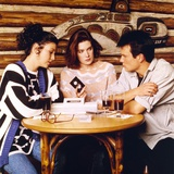 Twin Peaks Movie Scene with Sherilyn Fenn and Kyle Maclachlan and Sheryl Lee
