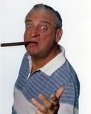 Rodney Dangerfield White Background with Cigar Portrait