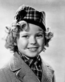 Shirley Temple wearing a Coat and Scarf