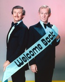 Smothers Brothers standing Group Portrait
