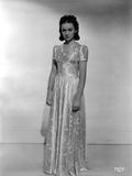 Ann Gillis on a Silk Long Gown Portrait