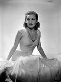 Ann Sheridan wearing a White Gown