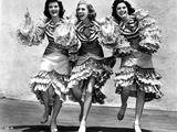Andrew Sisters Flamenco Dancers