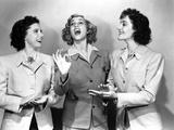 Andrew Sisters on Blazers singing