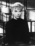 Anne Francis sitting in Classic Portrait