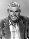 Andy Griffith Posed in Police Officer
