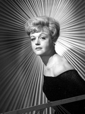 Angela Lansbury on a Dress standing and posed