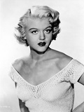 Angela Lansbury Off-Shoulder Top and posed