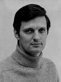 Alan Alda in White Portrait