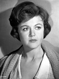 Angela Lansbury on a Knitted Top and posed