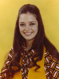 Angela Cartwright Posed in Yellow Background