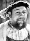 Charles Laughton wearing a Furry Top and Hat