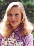 Deborah Raffin Portrait in Asian Dress