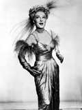 Betty Hutton on a Silk Dress and Happy