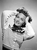Donna Reed on a Stripe Top