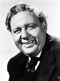 Charles Laughton in Black With White Background