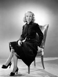 Audrey Totter Seated in Classic