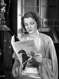 Ann Sheridan Reading a New Book