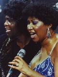 Aretha Franklin Duet Portrait