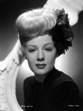 Betty Hutton on a Dark Turtle Neck Top Portrait