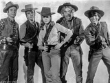 Cat Ballou Group Picture with Gun