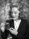 Alexis Smith Looking in a Small Mirror