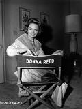 Donna Reed on an Actor Chair