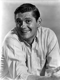 Dick York in White long sleeve Close Up Portrait