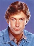 Alec Baldwin Portrait in Blue Denim Jacket