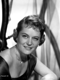 Alexis Smith Looking at the Camera wearing a Necklace