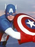 Captain America Close Up Portrait