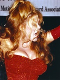 Charo Portrait in Red Gown