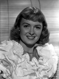 Donna Reed on a Ruffled Dress Portrait