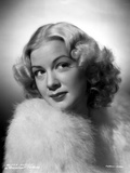 Betty Hutton on a Fluffy Coat Portrait