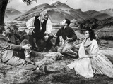 Brigadoon Excerpt Men and Woman sitting Under the Tree