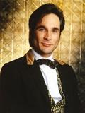 Clint Black Posed in Black Suit Portrait