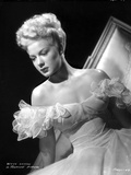 Betty Hutton on a Ruffled Sleeves Portrait