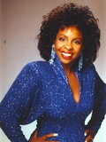 Gladys Knight in Sparkling Blue Dress