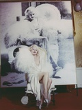 Carroll Baker Posed in White