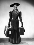 Carol Channing smiling in a Long Dress with Apache Cases