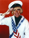 Carol Channing Hand Salute in Sailor Uniform