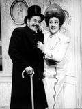 Ethel Merman Couple Portrait in Black and White
