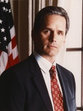 Gregory Harrison Posed in Suit and Tie