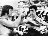 Bruce Lee in Fighting Scene